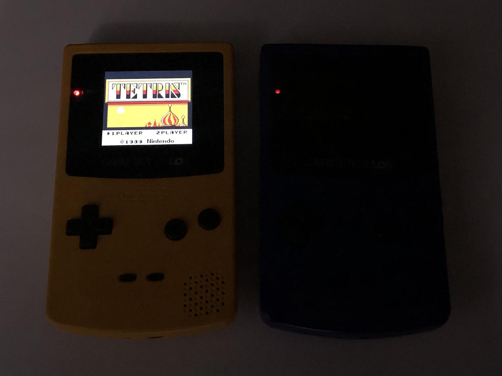 Gameboy Color GBC 背光