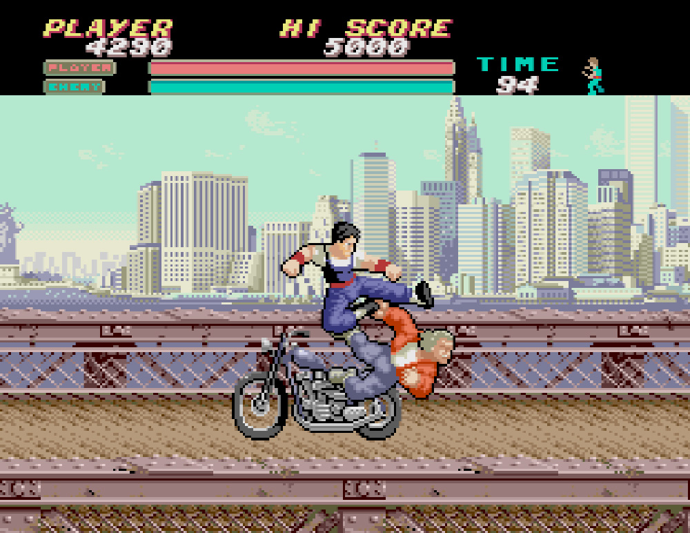 IREM 功夫小子 VIGILANTE PC-Engine